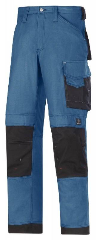 Nohavice Canvas+™ remeselnícke 3314, morská modrá - čierna