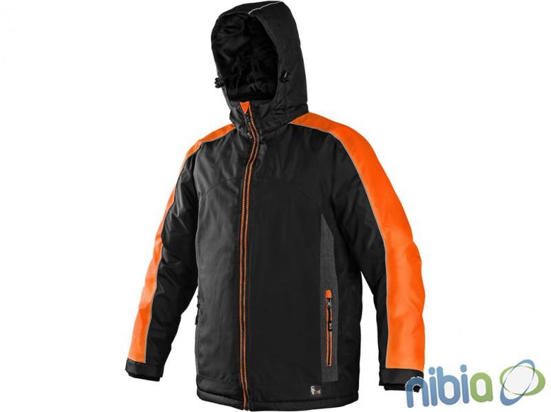 Pánska bunda CXS BRIGHTON oranžová