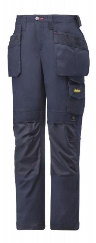 Nohavice dámske Canvas+ s HP 3714, námornícká modrá - námornícká modrá