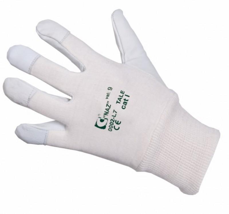 Rukavice TALE v dlani z lícovej kože