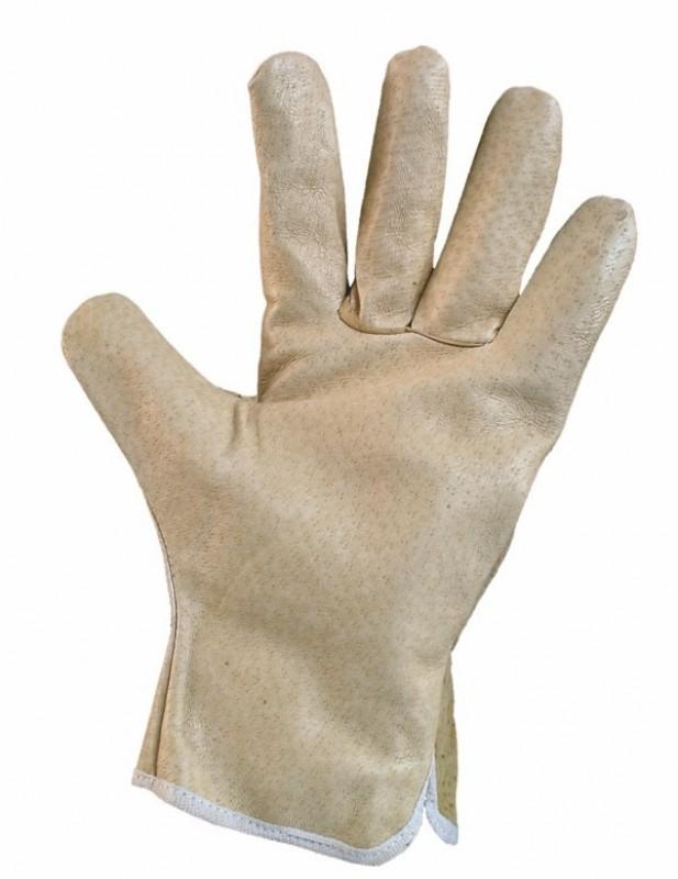 """Rukavice ASTAR 9"""" z kvalitnej lícovej bravčovej kože"""