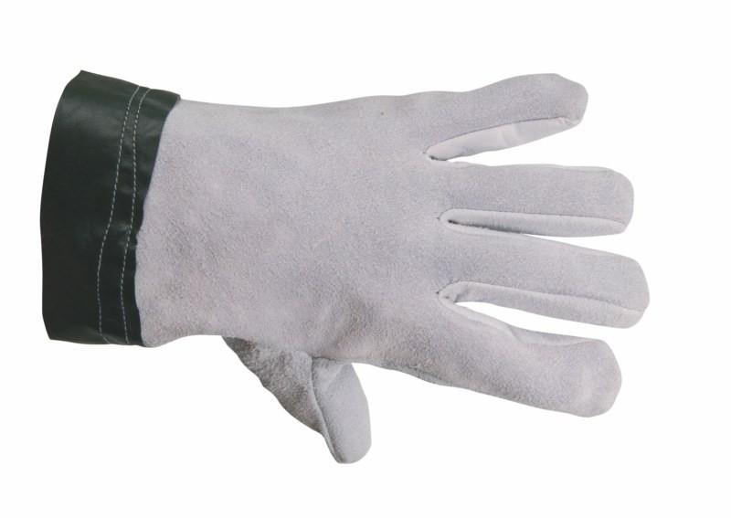 Antivibračné rukavice TEMA zo štiepanej hovädzej kože