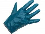 Rukavice impregnované v modrom nitrile