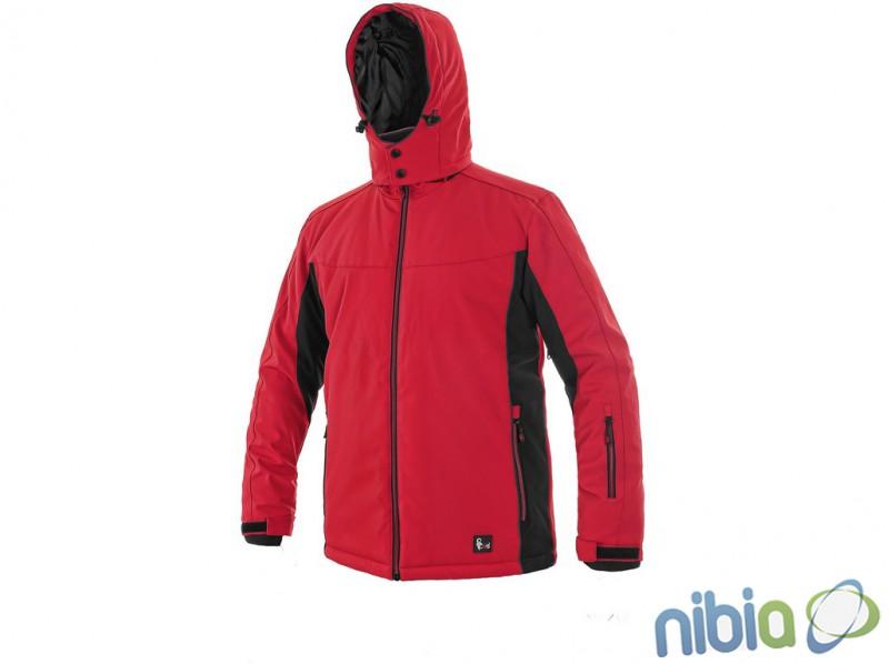 pánska softshellová bunda VEGAS červená