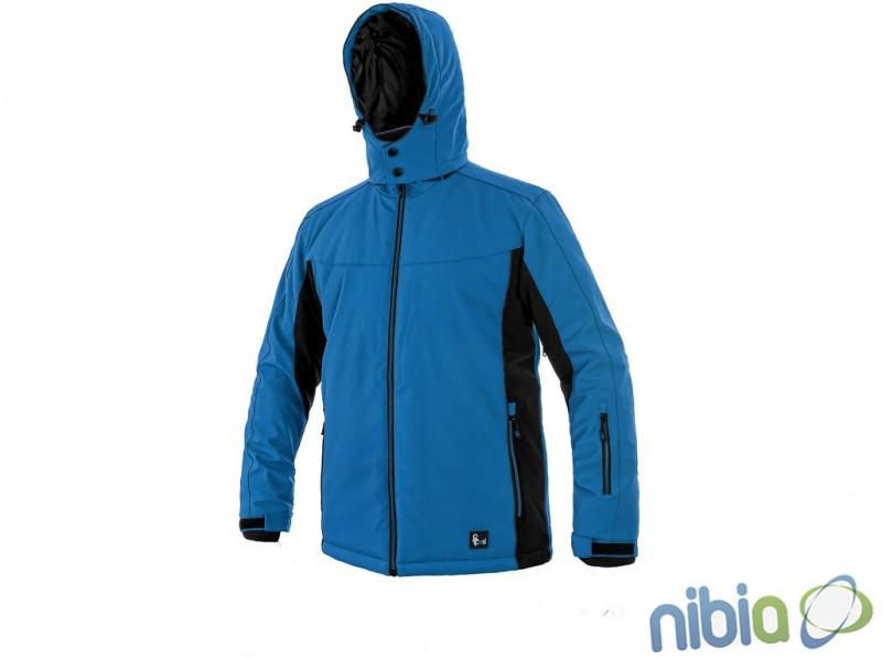 pánska softshellová bunda VEGAS modrá