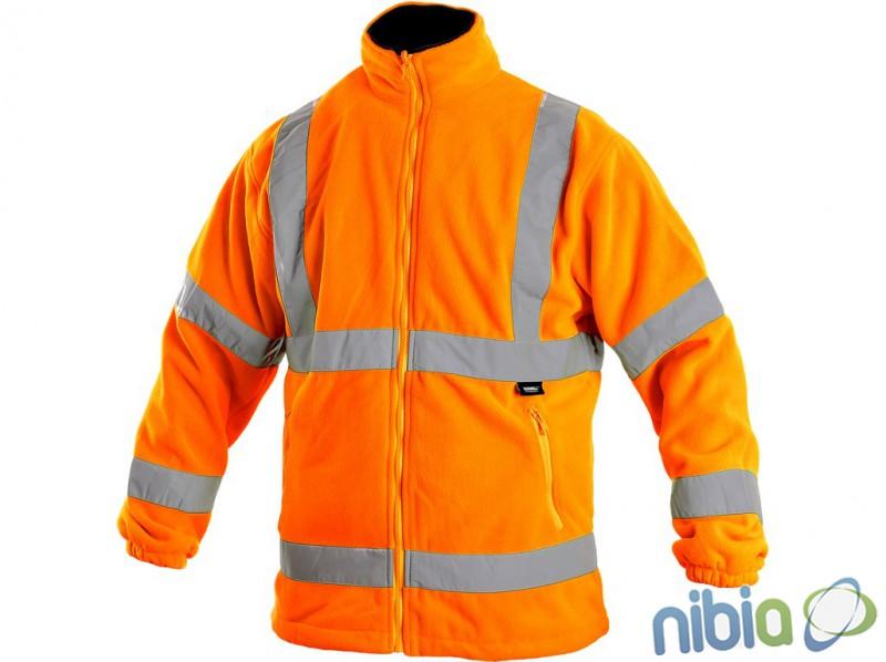 pánska výstražná bunda preston oranžová