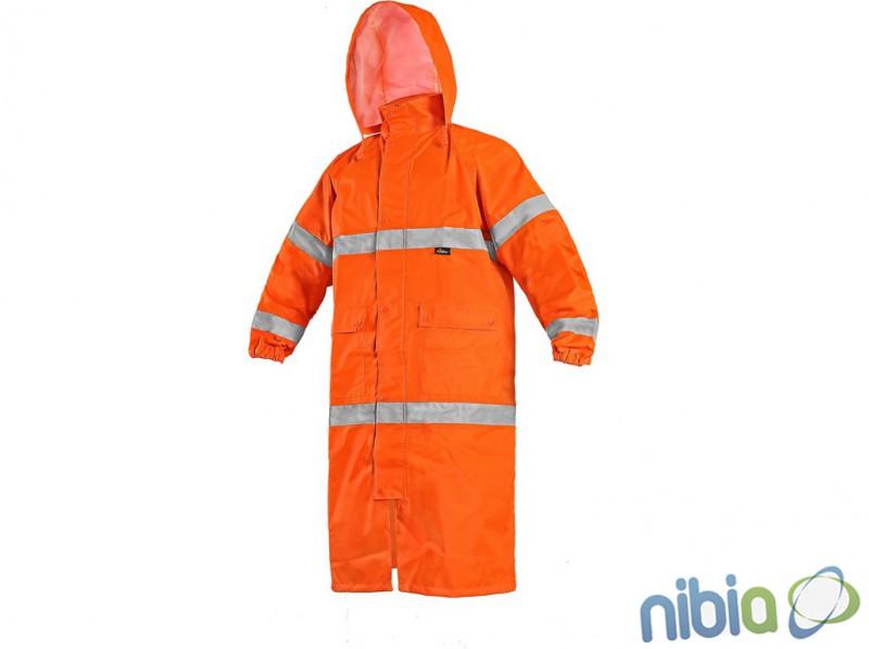 pánsky výstražný plášť oranžový BATH