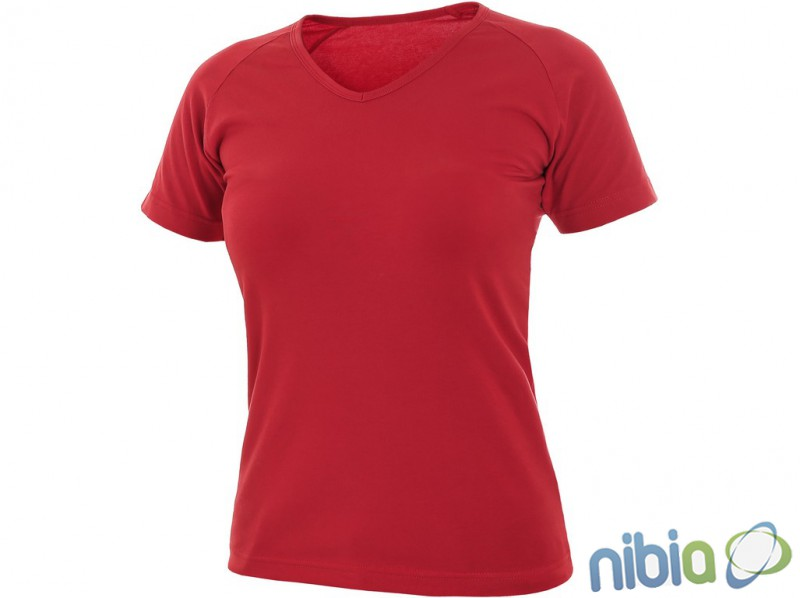 dámske tričko ella červené