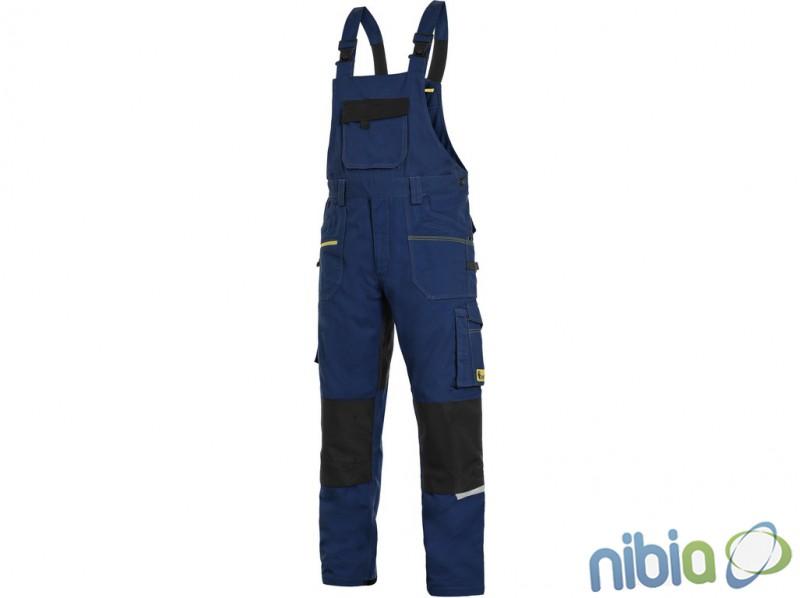 pánske monterkové nohavice CXS STRETCH trakové tm