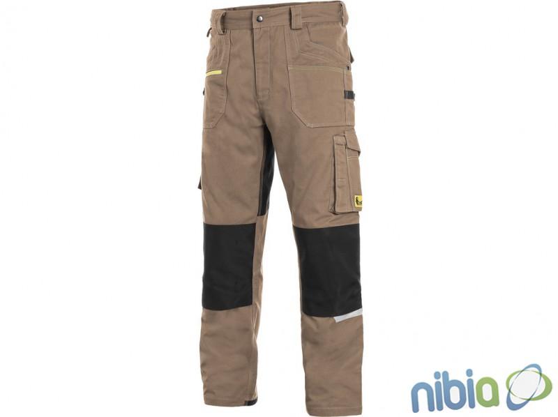 pánske monterkové nohavice CXS STRETCH pásové bč