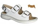 Ortopedické sandále s prackou 05-509/P, topas - 066 v