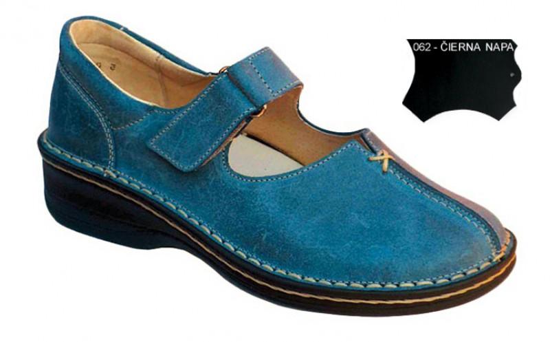 b50c01e580ca Pohodlné dámske ortopedické topánky 06-629