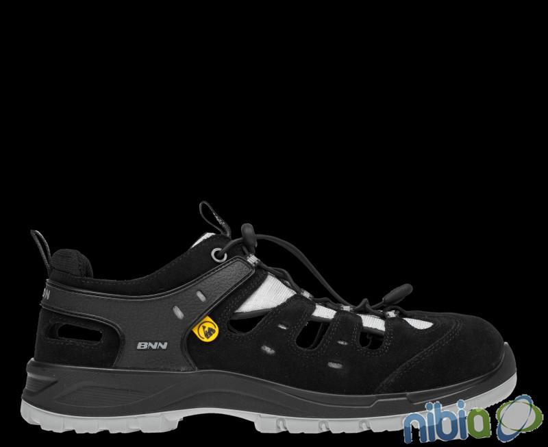 BNN BOMBIS LITE S1P ESD Grey Sandal