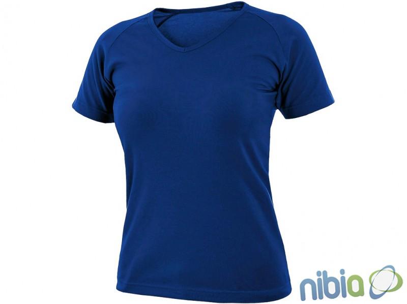 dámske tričko ella stredne-modré