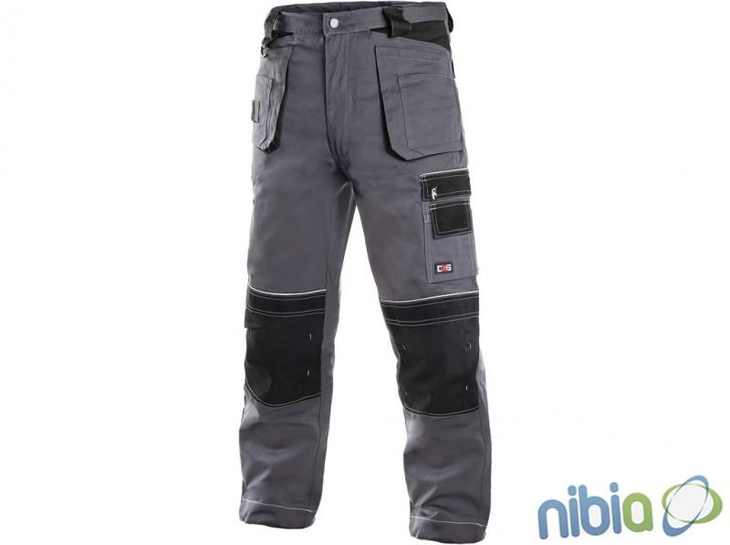 Pracovné nohavice TEODOR šedo-čierne