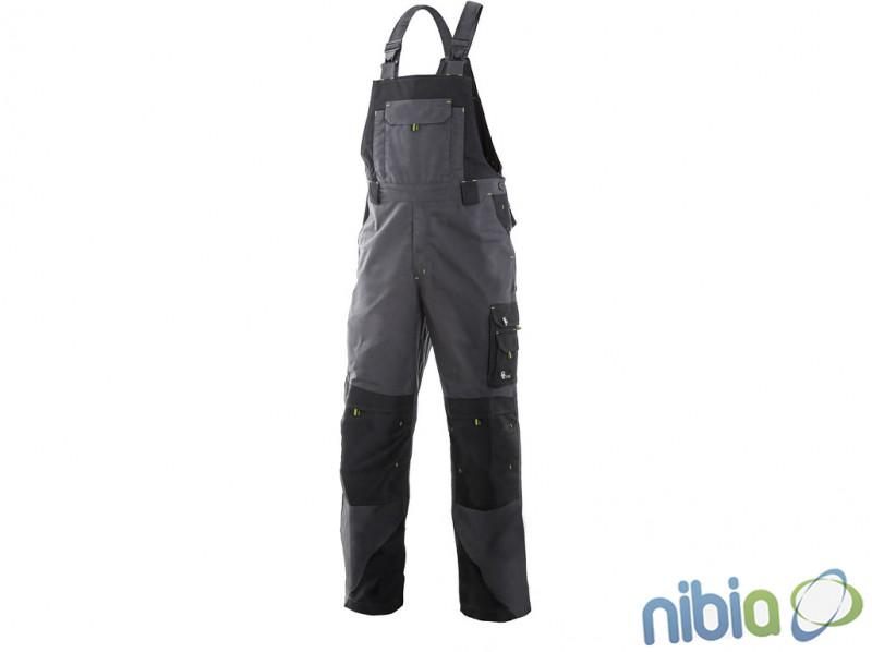 Pánske nohavice s náprsenkou SIRIUS TRISTAN zateplené flanelom