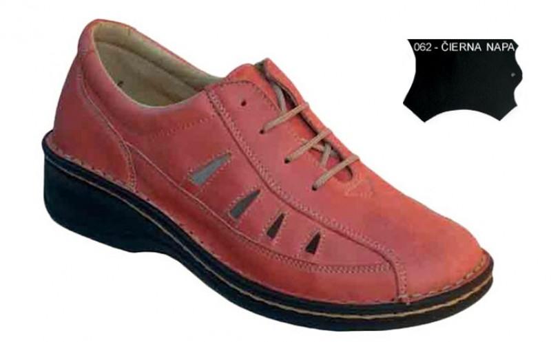 Dámske ortopedické topánky 07-791, čierna napa - 062