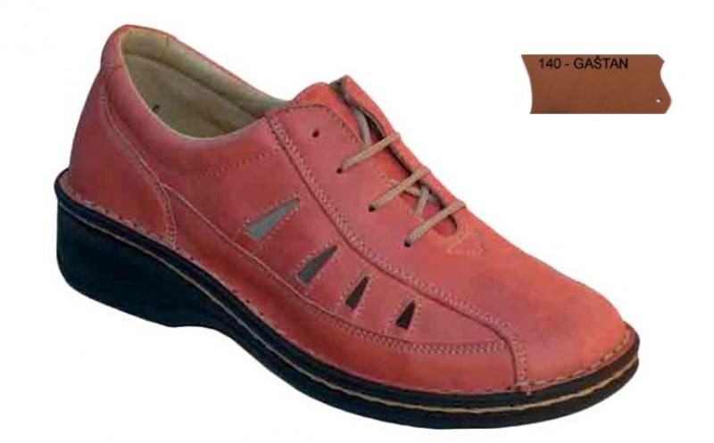 Dámske ortopedické topánky 07-791, gaštan - 140