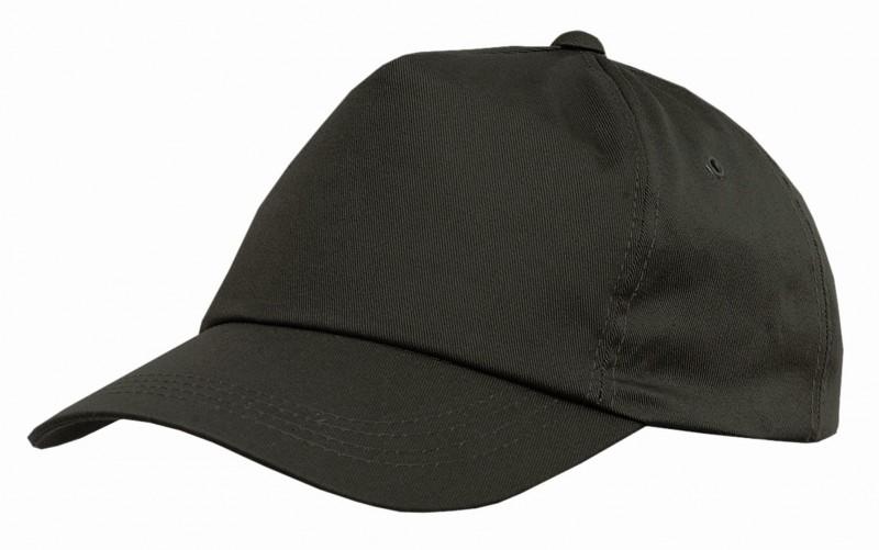 Baseballová čiapka so šiltom PHIL, Čierna