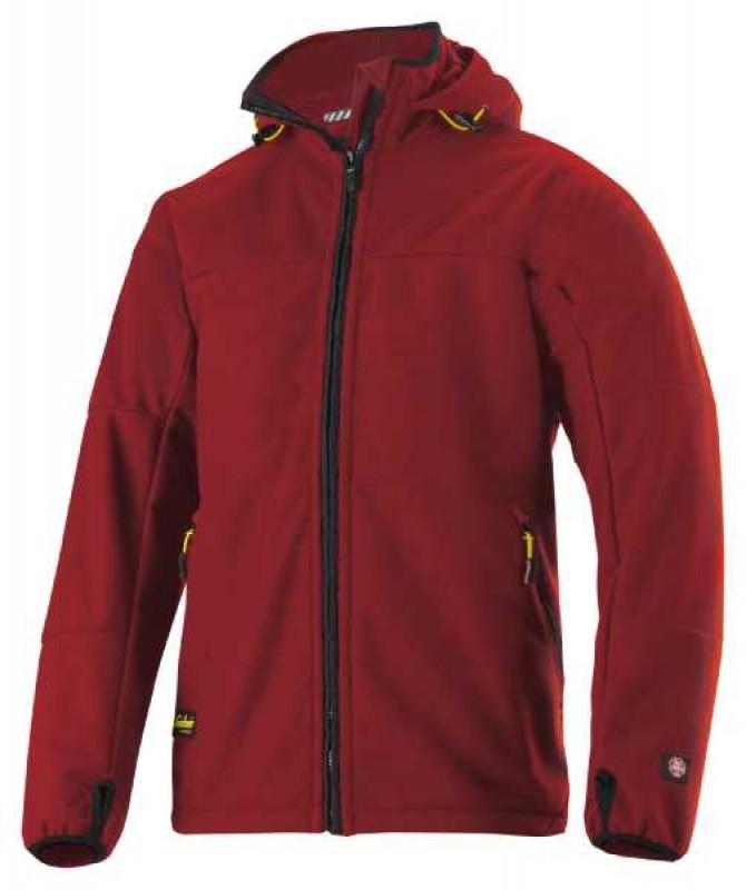 Bunda fleeceová Windstopper, na zips 8088, červená čilli