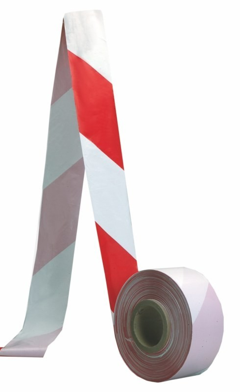 Bezpečnostná zábrana vstupu páska červeno-biela