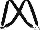 Traky pre suchý zips Flexi® 9044, čierna