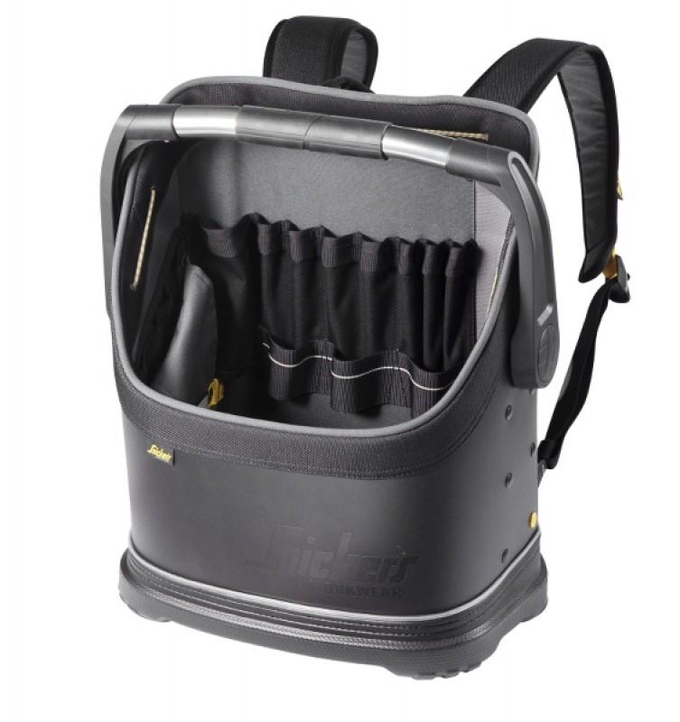 Batoh/taška na náradie Flexi® 19 l 9810, čierna - čierna