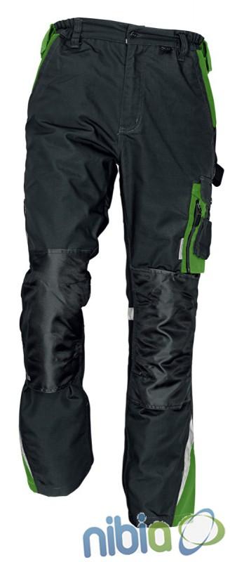 Monterkove nohavice do pása ALLYN zelené