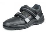 Pracovné sandále TIMOR S1 P f.60, čierna v