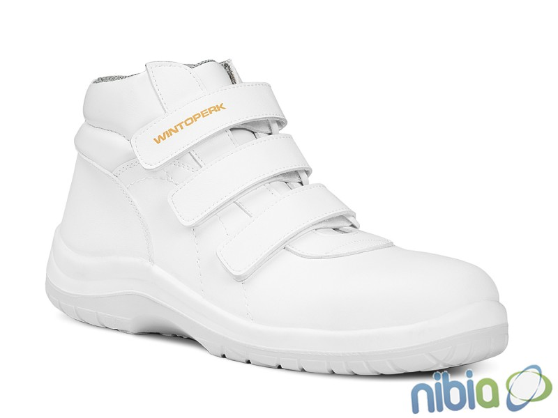 Členková obuv White FOX Velcro S2 f.10